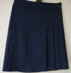 Navy 3 pleat Skirt